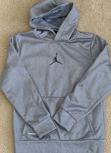 Jordan Brand by Nike boys dri fit hoodie EUC